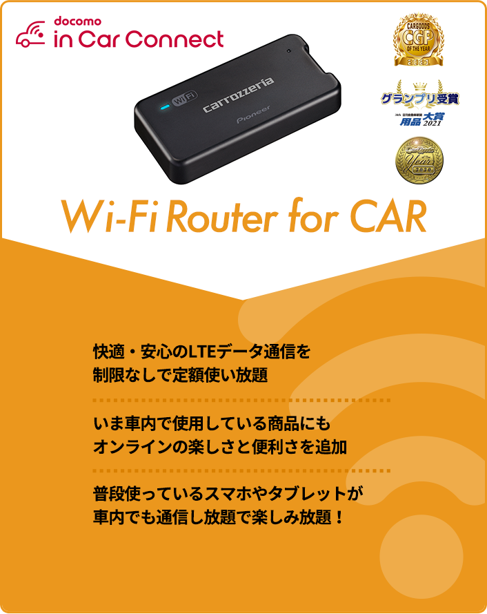 Wi-Fi Router for CAR