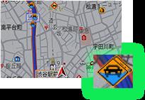 冠水地点表示 イメージ