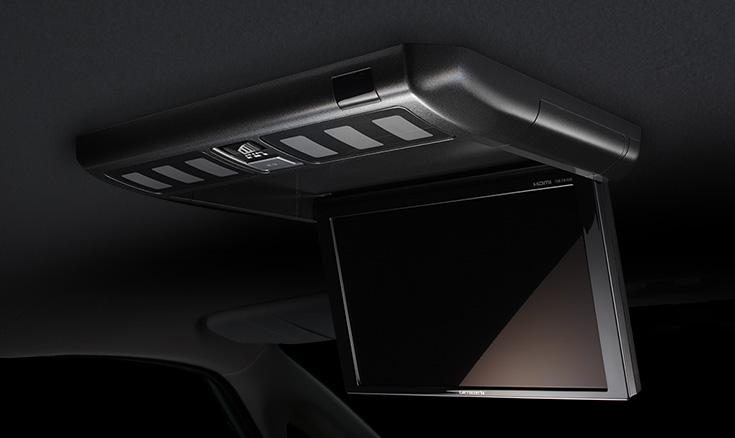 車室内に美しく融合する、洗練されたデザイン