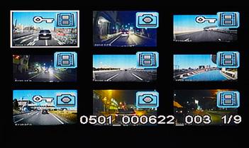 見たい映像をスムーズに選択して再生することも可能。