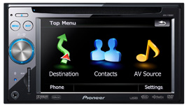 Pioneer Introduces Its First In-Dash Flash-memory-based  Car Navigation Systems into Overseas Consumer Markets