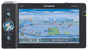 Pioneer Introduces New AIR NAVI Portable Car Navigation System with Communications Module Support in Japan