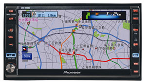 Pioneer Introduces Its First DVD-based Car Navigation System For Chinese Consumer Market