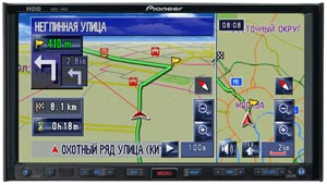Pioneer Introduces First AV-integrated HDD-based Navigation System In Russian Consumer Market
