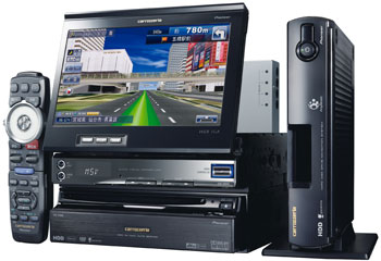Pioneer Introduces Five New HDD-based CYBER NAVI Car Navigation Systems in Japan
