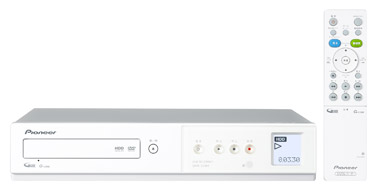 Pioneer Introduces HDD/DVD Recorders, Stylish and Easy-to-use