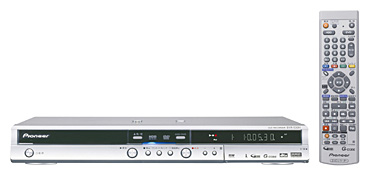 Pioneer Introduces New DVD Recorders with Built-in HDD