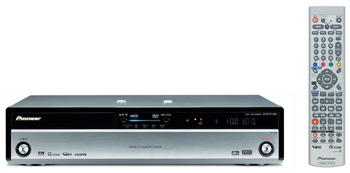 Pioneer Introduces High-end HDD/DVD Recorder with Digital Tuner