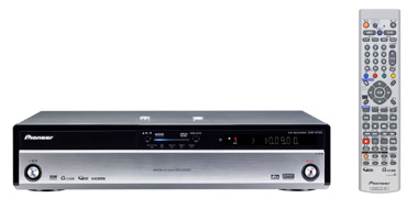 Pioneer Introduces High-end HDD/DVD Recorders with Digital Tuner