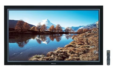Pioneer introduces its largest 61-inch high-definition Plasma Monitors for home- and industrial-use in Japan