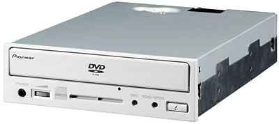 Pioneer Launches Two New DVD-R/RW Drives for PCsOffering Both DVD-R/RW and CD-R/RW Recording and Playback
