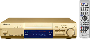 Pioneer Completes its 2002 DVD-R/RW Recorder Lineup with the DVR-99H, Featuring a 120 GB Built-in HDD for a Maximum of 153 Hours of Recording