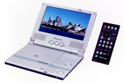 Pioneer Introduces Two New Portable DVD Players,PDV-LC20TV and PDV-20.